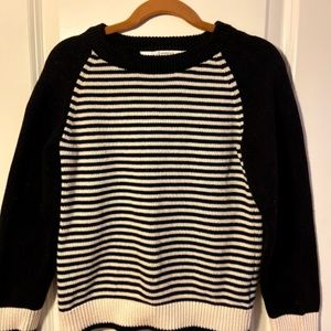 Kids Black and White Sweater